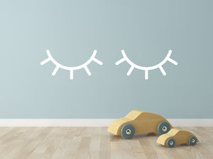 Sleepy Eyes | Wall Decal - Personalised Clothing | EAST ON 18th