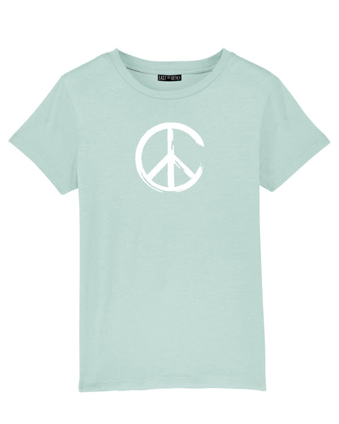 Peace | Kids T-Shirt - Personalised Clothing | EAST ON 18th