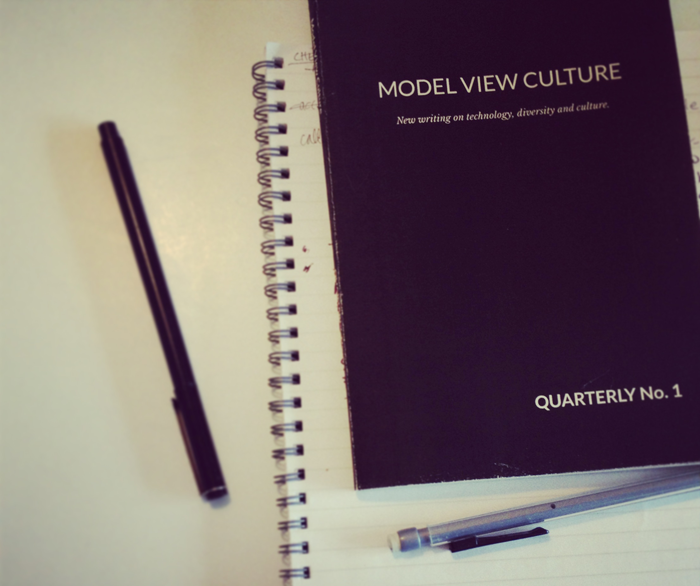 Image of the Model View Culture Quarterly #1