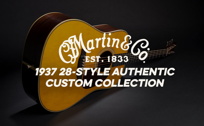 Martin 1937 Authentic Custom Collection