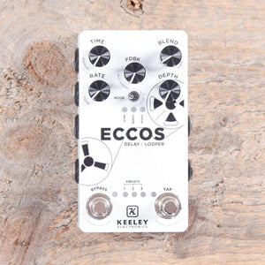 Keeley Effects and Pedals / Loop Pedals and Samplers Keeley ECCOS Modulated Delay Looper
