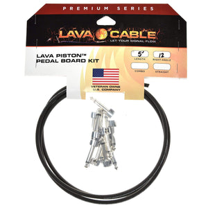Lava Cable Accessories / Cables Lava Piston Kit 5' No Cap Black