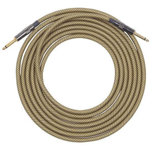 Lava Cable Accessories / Cables Lava Vintage Tweed Instrument Cable 20' Straight-Straight