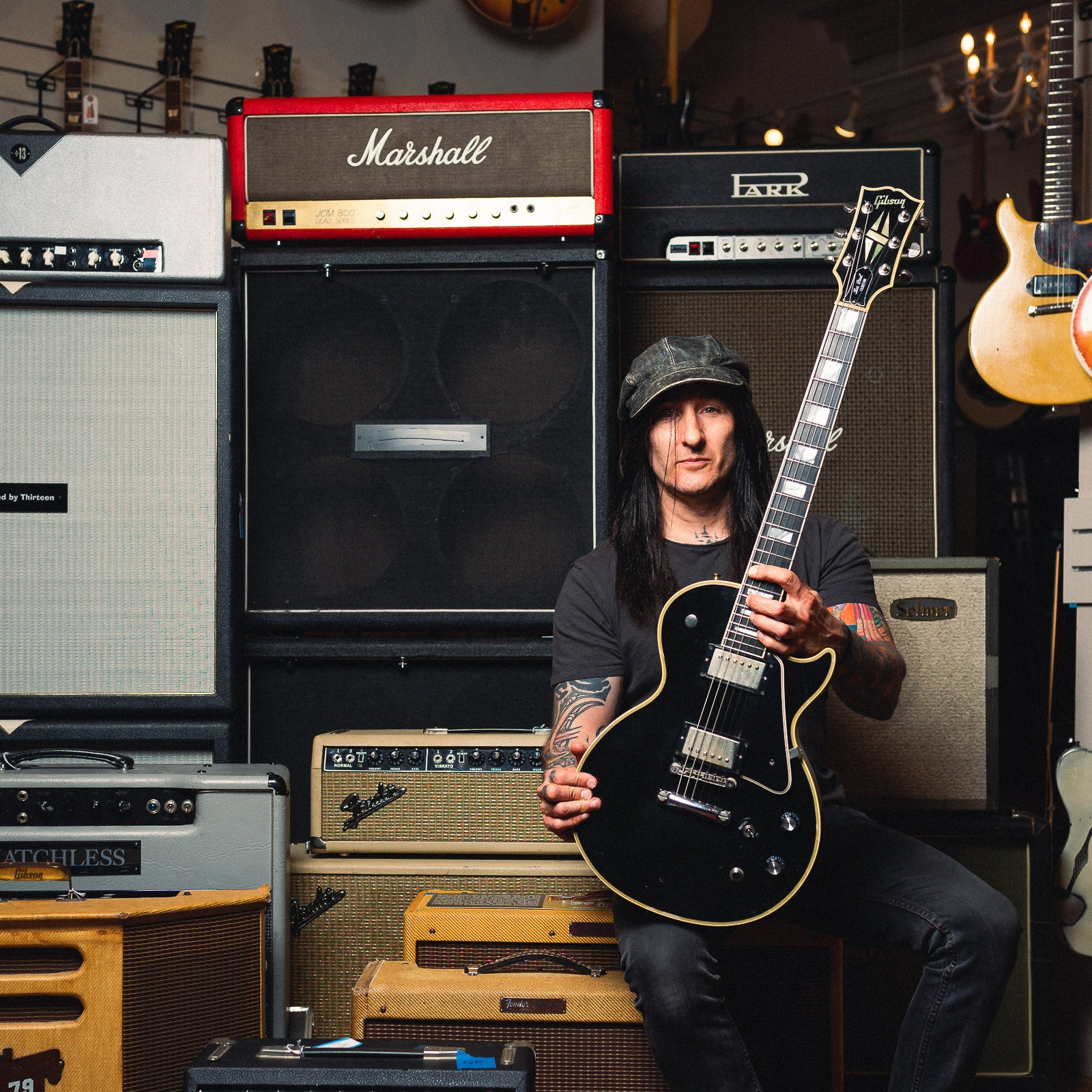 Richard Fortus Stage Played Gibson
