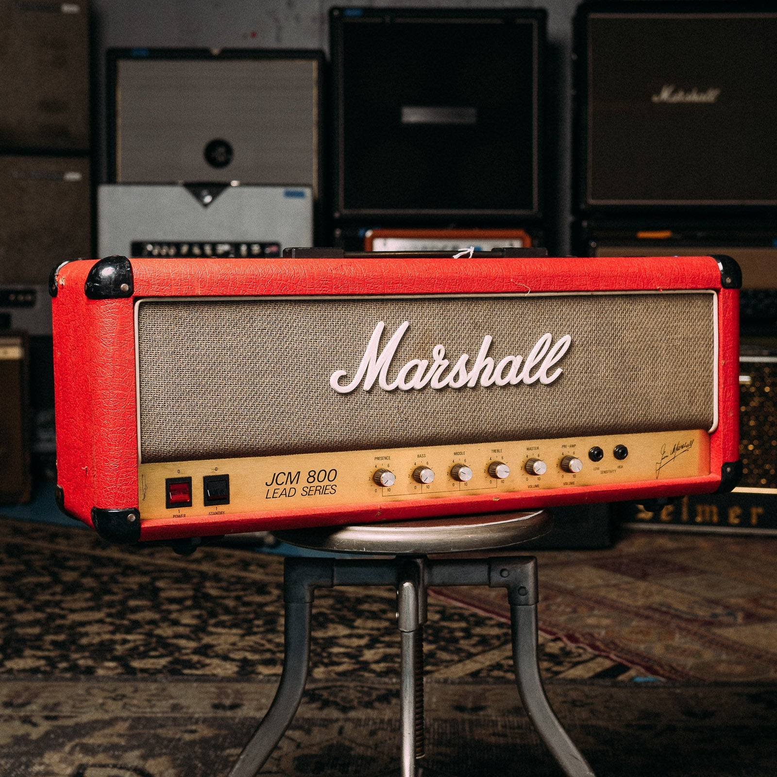 Marshall JCM800 MK2 Master Model 100 Lead (Red) Model 2204