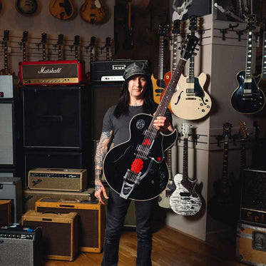 Richard Fortus Collection Stage Played Guitar