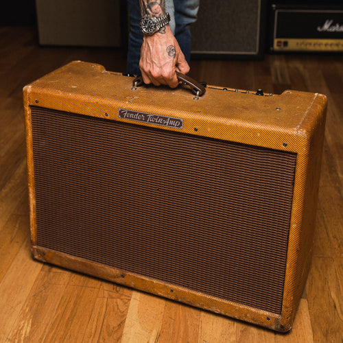 FENDER TWIN-AMP 80W 2X12 COMBO 1959 TWEED (SERIAL #A00569)