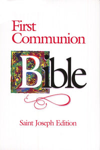 St. Joseph First Communion Bible- NABRE