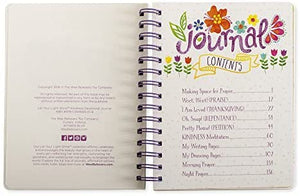 Joy Floral Devotional Activity Notebook Journal