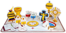 Load image into Gallery viewer, My Pop-Out 14 Piece Children's Mass Activity Set