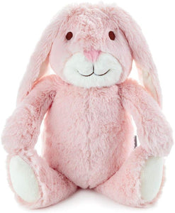 Pink Bunny Stuffed Animal with Chime by Hallmark