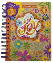Load image into Gallery viewer, Joy Floral Devotional Activity Notebook Journal