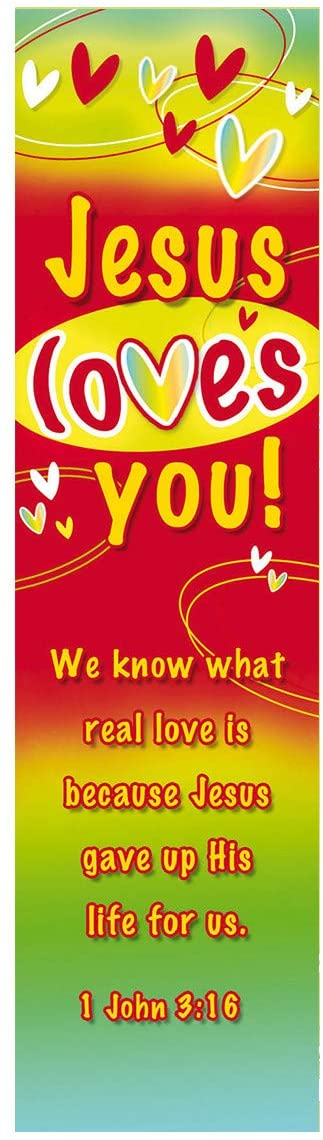 Jesus Loves You Bookmark