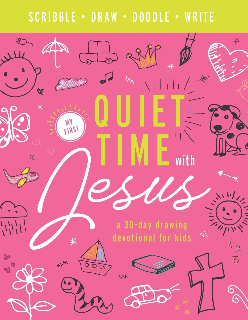 My First Quiet Time With Jesus, Pink
