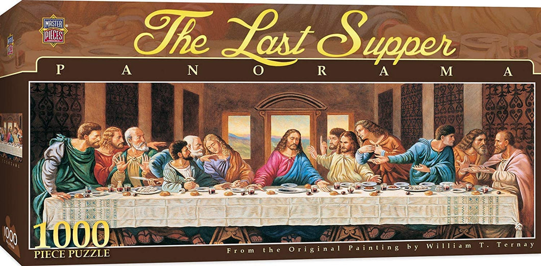 The Last Supper Panorama Puzzle 1000 Pieces