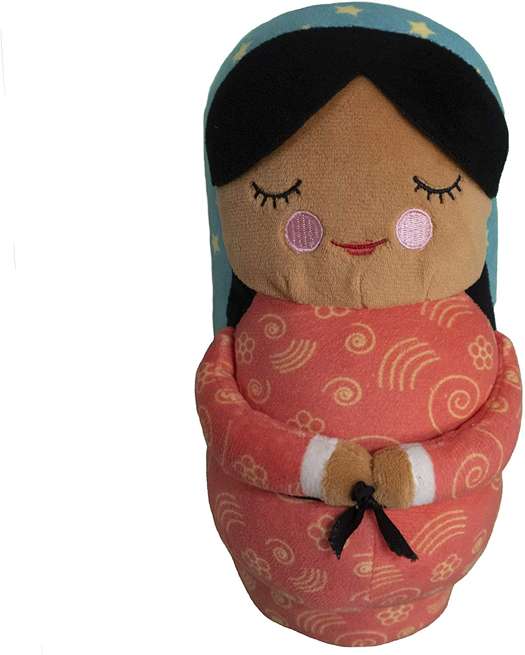 Shining Light Dolls Our Lady of Guadalupe Plush Doll