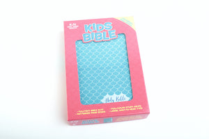 KJV Kids Bible Aqua LeatherTouch