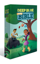 Load image into Gallery viewer, Deep Blue Kids Bible (Wilderness Trail Paperback), CEB