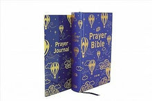 Load image into Gallery viewer, ICB, Prayer Bible for Children + Journal: Navy and Gold, Hardcover, Printed Caseside