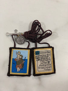 St. Christopher Scapular