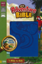 Load image into Gallery viewer, NKJV Adventure Bible, Italian Duo-Tone, Ocean Blue