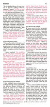Load image into Gallery viewer, Pocket Thinline New Testament with Psalms & Proverbs (Red Letter, LeatherLike, Pink), NLT