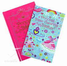 Load image into Gallery viewer, Princess Sparkle Bible with Coloring Book with Stickers, ICB