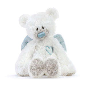 Blue Guardian Angel Bear Rattle