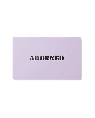 Digital Gift Card -US$50.00- The Adorned-