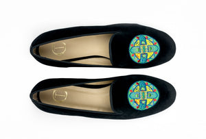 Cross Mandala Black