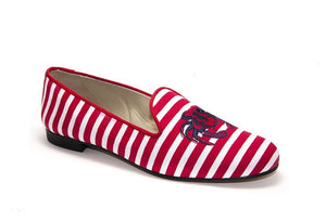 Crab Red And White Stripes