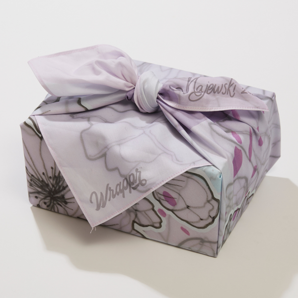 Furoshiki Gift Wrap - Flowers By The Sea