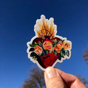 IMMACULATE HEART OF MARY STICKER