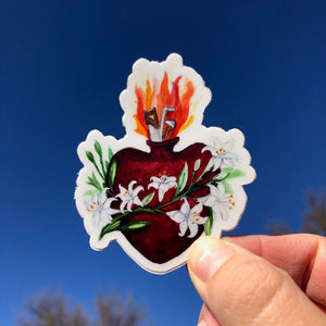MOST CHASTE HEART OF JOSEPH STICKER