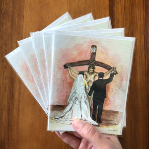 SACRIFICE OF LOVE GREETING CARDS