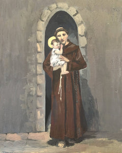 SAINT ANTHONY AND THE CHILD JESUS