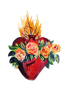 IMMACULATE HEART OF MARY GREETING CARDS