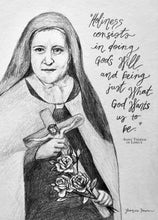 Load image into Gallery viewer, HOLINESS - SAINT THERESE