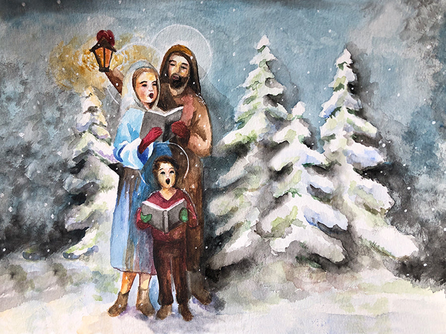 HOLY FAMILY WASSAILING