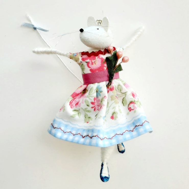 Sugar mouse in Cath Kidston fabric dress