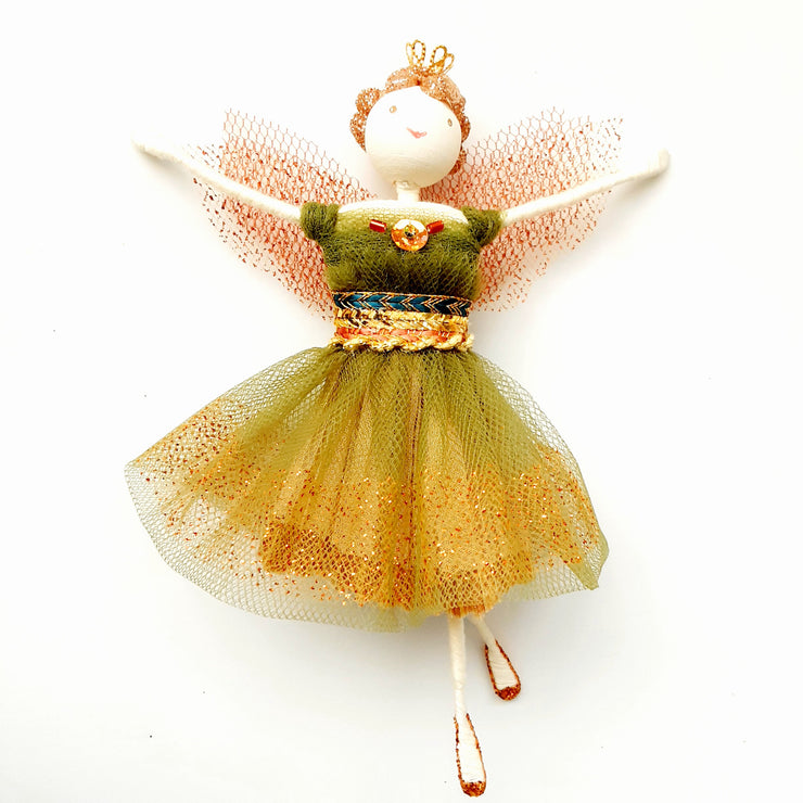 October Cupcake Fairy - Miss Apple Spice
