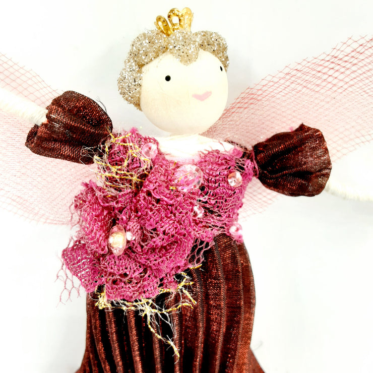 January Fairy Of The Month - Miss Raspberry Ruffle