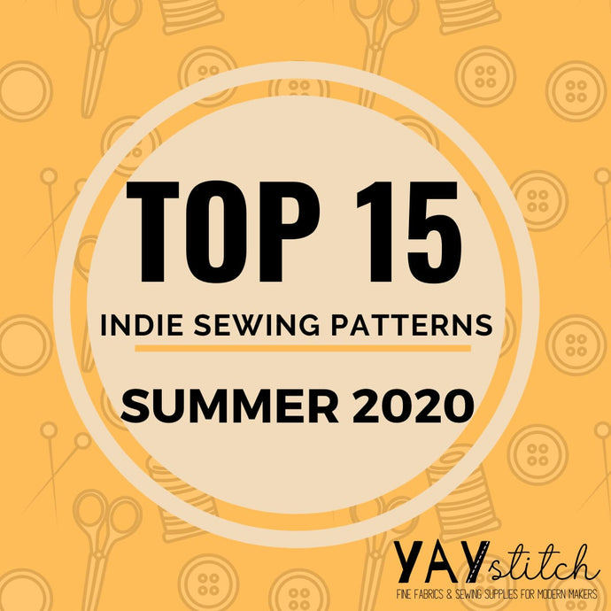 Slow Fashion Trends - The top 15 indie sewing patterns of Summer 2020