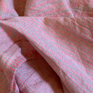 Merchant and Mills Pink Fizz Laundered Linen/Cotton