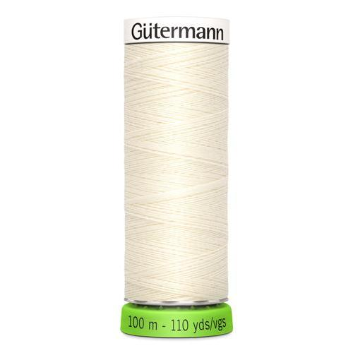 Gütermann Recycled Polyester Thread - 100m - Colour 1