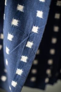 Merchant and Mills - Cottontail Navy Ikat Cotton