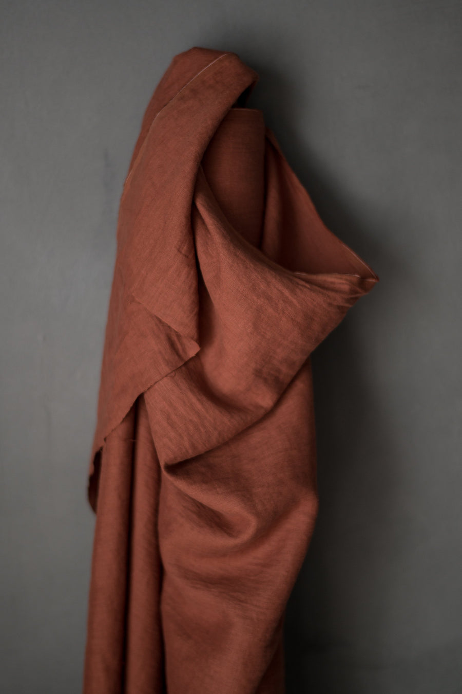 Merchant and Mills - Maud Rust - European Laundered Linen - 185gsm