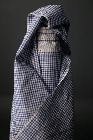 Merchant and Mills - Gable Blue Check Cotton