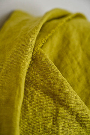 Merchant and Mills - Mr Citrus - European Laundered Linen - 185gsm