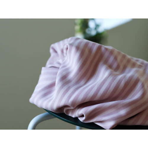 Meet MILK Two-Tone Stripe Tencel Twill Puff - fabric